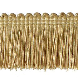 "1½"" Brush Fringe - Maize"