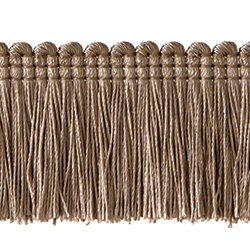 "1½"" Brush Fringe - Tender Taupe"