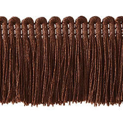 "1½"" Brush Fringe - Toffee"