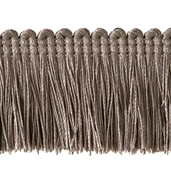 "1½"" Brush Fringe - Rock Gray"