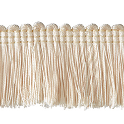 "1½"" Brush Fringe - Cream"