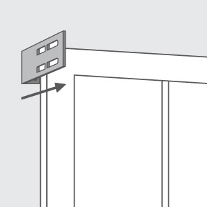 "1¾"" Projection Brackets"